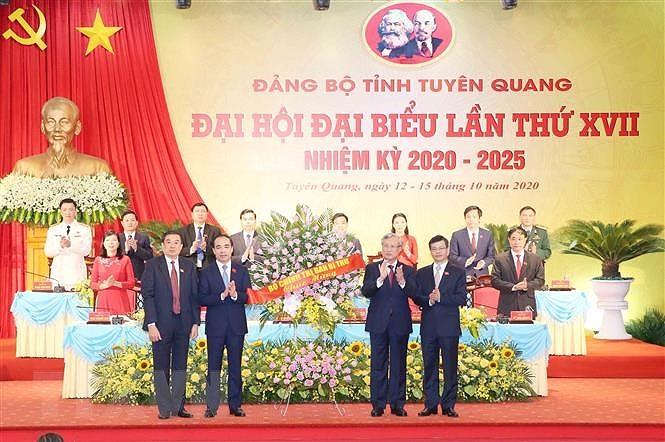 Tuyen Quang can phat trien kinh te ben vung, dam bao an sinh xa hoi hinh anh 3