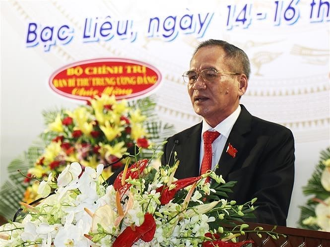 Ong Lu Van Hung tai dac cu Bi thu Tinh uy Bac Lieu hinh anh 1
