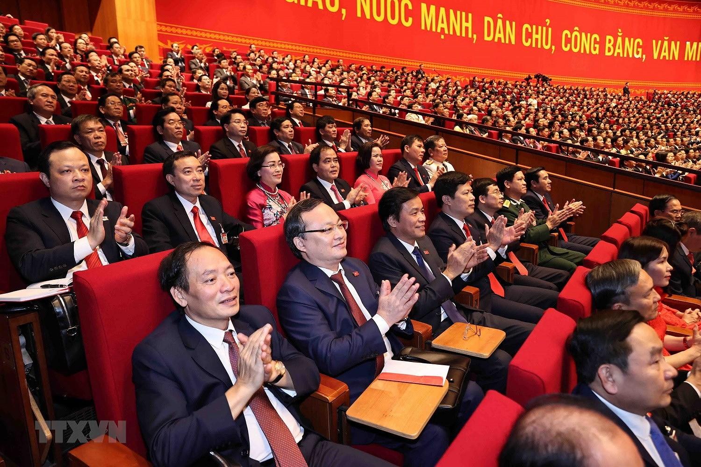 Hinh anh le khai mac trong the Dai hoi lan thu XIII Dang Cong san hinh anh 21