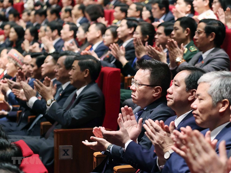 Hinh anh le khai mac trong the Dai hoi lan thu XIII Dang Cong san hinh anh 22