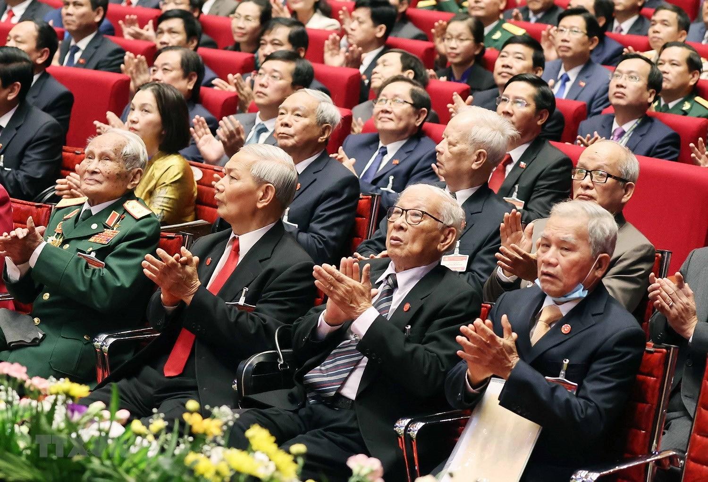 Hinh anh le khai mac trong the Dai hoi lan thu XIII Dang Cong san hinh anh 12