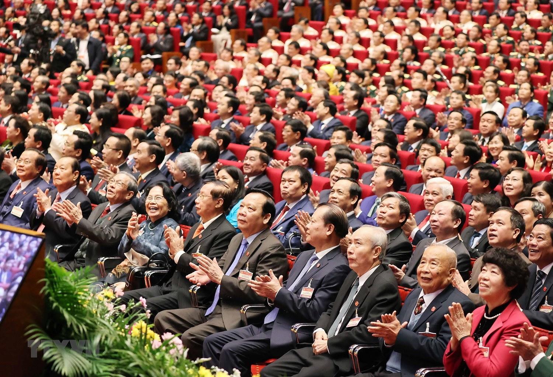 Hinh anh le khai mac trong the Dai hoi lan thu XIII Dang Cong san hinh anh 23