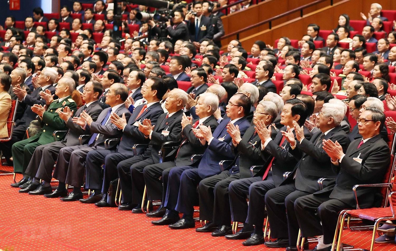 Hinh anh le khai mac trong the Dai hoi lan thu XIII Dang Cong san hinh anh 13