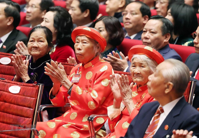 Hinh anh le khai mac trong the Dai hoi lan thu XIII Dang Cong san hinh anh 14
