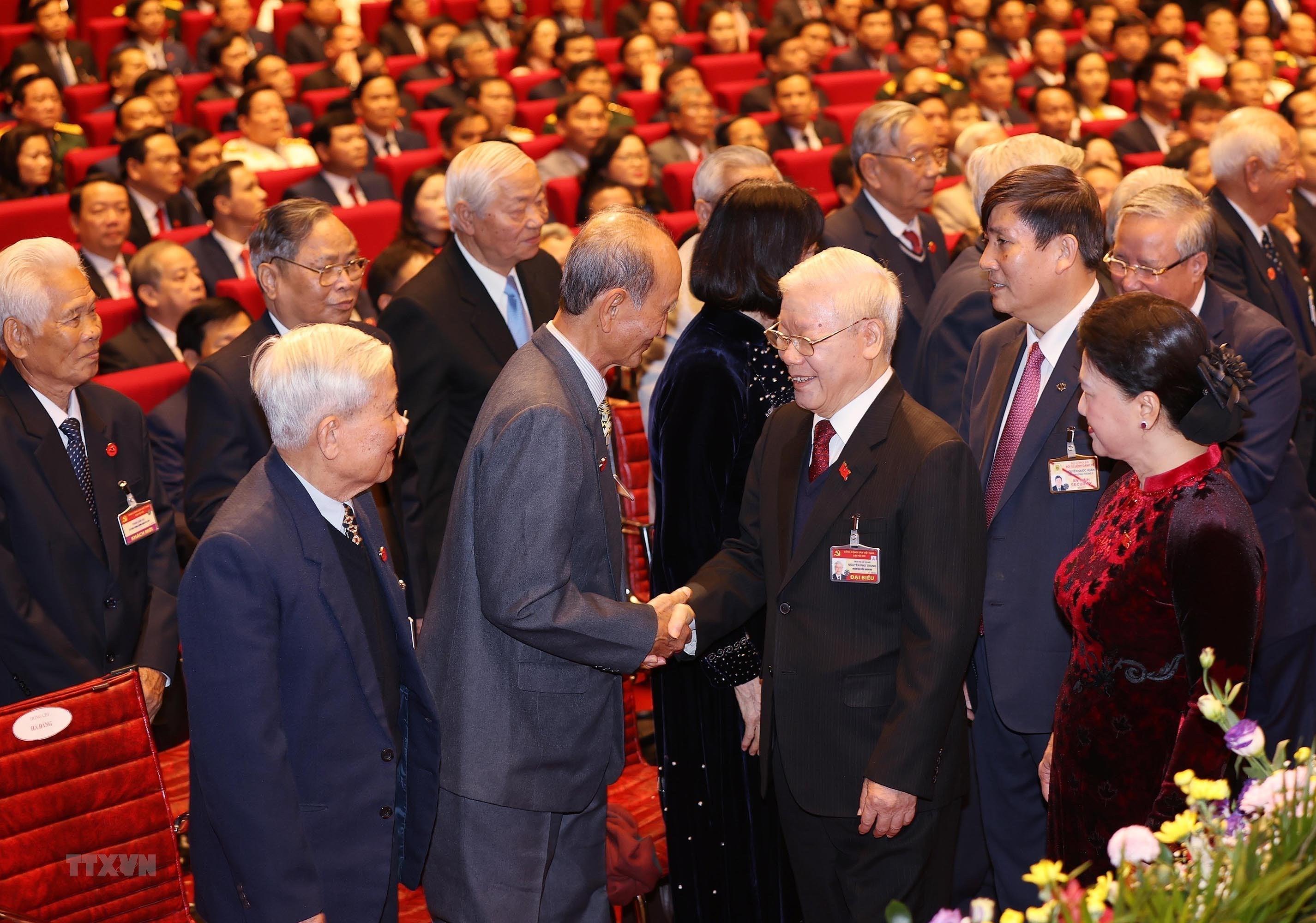 Hinh anh le khai mac trong the Dai hoi lan thu XIII Dang Cong san hinh anh 9