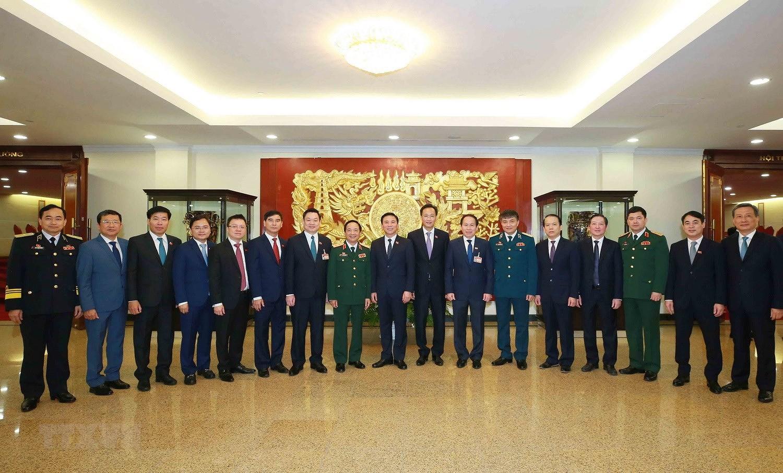 Hinh anh Hoi nghi lan thu nhat Ban Chap hanh Trung uong Dang khoa XIII hinh anh 23