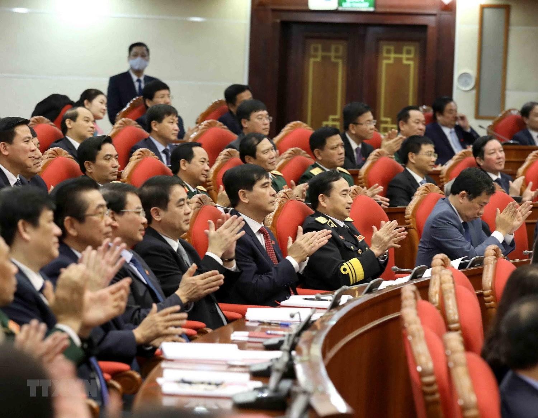 Hinh anh Hoi nghi lan thu nhat Ban Chap hanh Trung uong Dang khoa XIII hinh anh 17