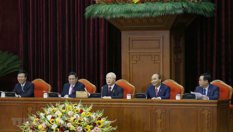 Hinh anh Hoi nghi lan thu nhat Ban Chap hanh Trung uong Dang khoa XIII hinh anh 4