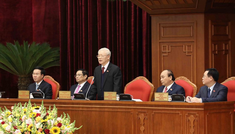 Hinh anh Hoi nghi lan thu nhat Ban Chap hanh Trung uong Dang khoa XIII hinh anh 5