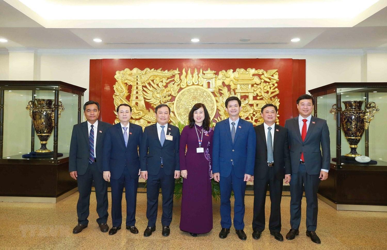 Hinh anh Hoi nghi lan thu nhat Ban Chap hanh Trung uong Dang khoa XIII hinh anh 22