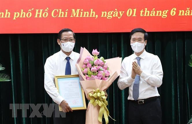 Ong Phan Van Mai giu chuc Pho Bi thu Thuong truc Thanh uy TP.HCM hinh anh 1
