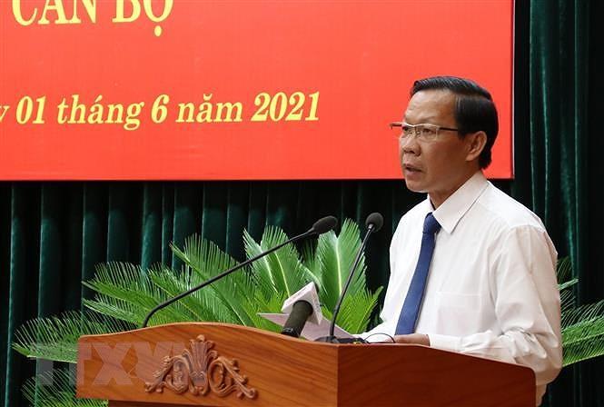 Ong Phan Van Mai giu chuc Pho Bi thu Thuong truc Thanh uy TP.HCM hinh anh 2