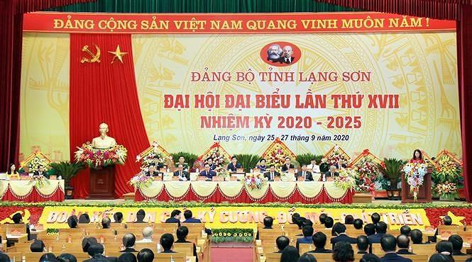 Truong ban to chuc Trung uong chi dao Dai hoi Dang bo tinh Lang Son hinh anh 2