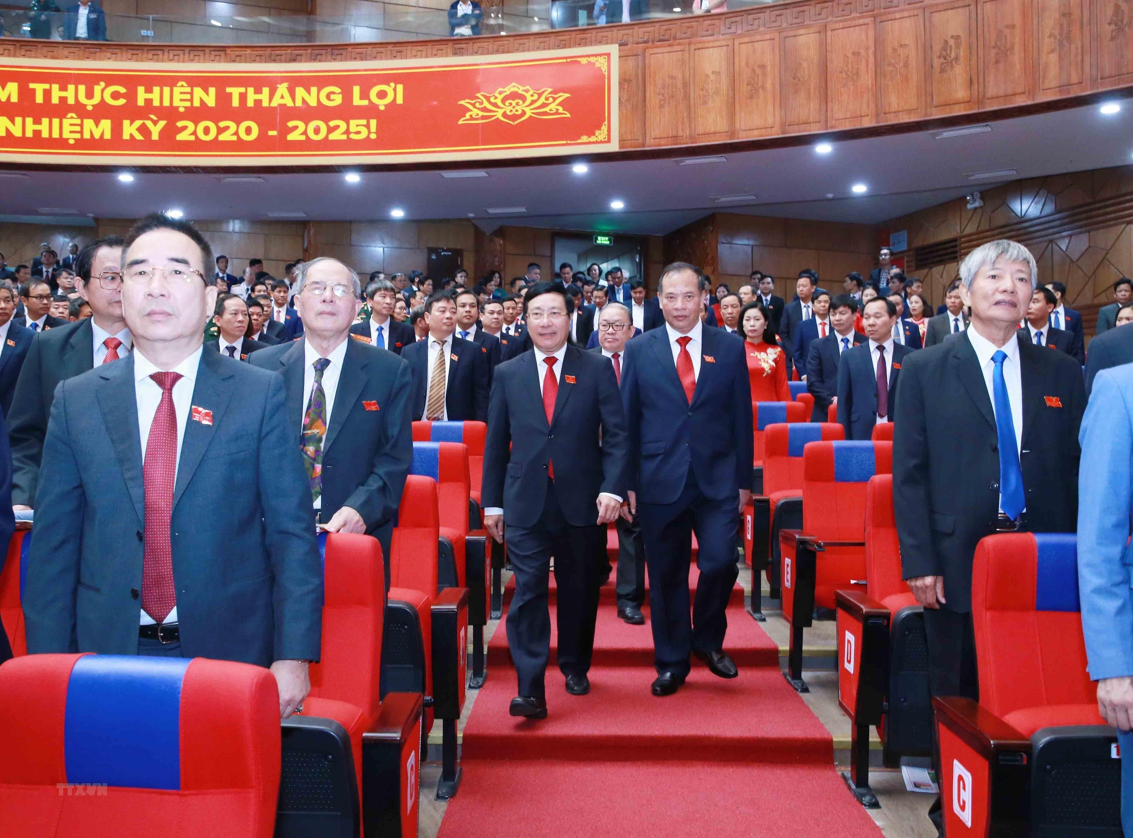 [Photo] Dai hoi dai bieu Dang bo tinh Hai Duong lan thu XVII hinh anh 1