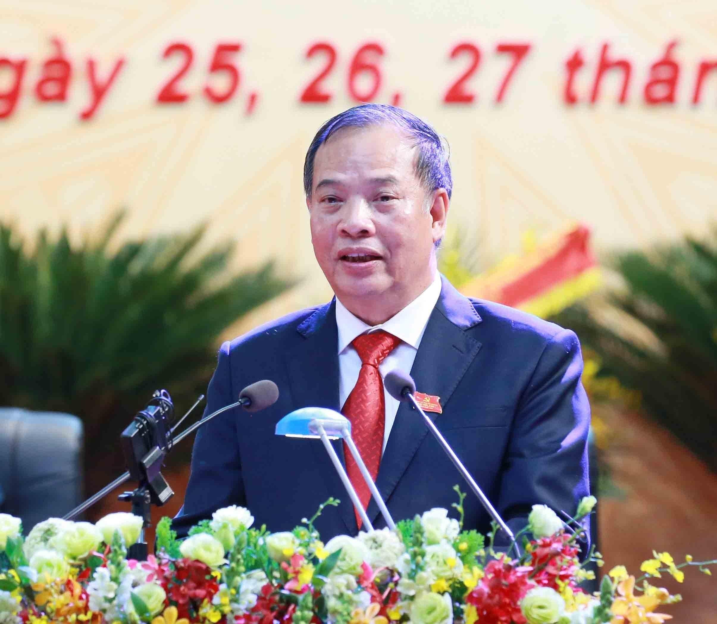 [Photo] Dai hoi dai bieu Dang bo tinh Hai Duong lan thu XVII hinh anh 10