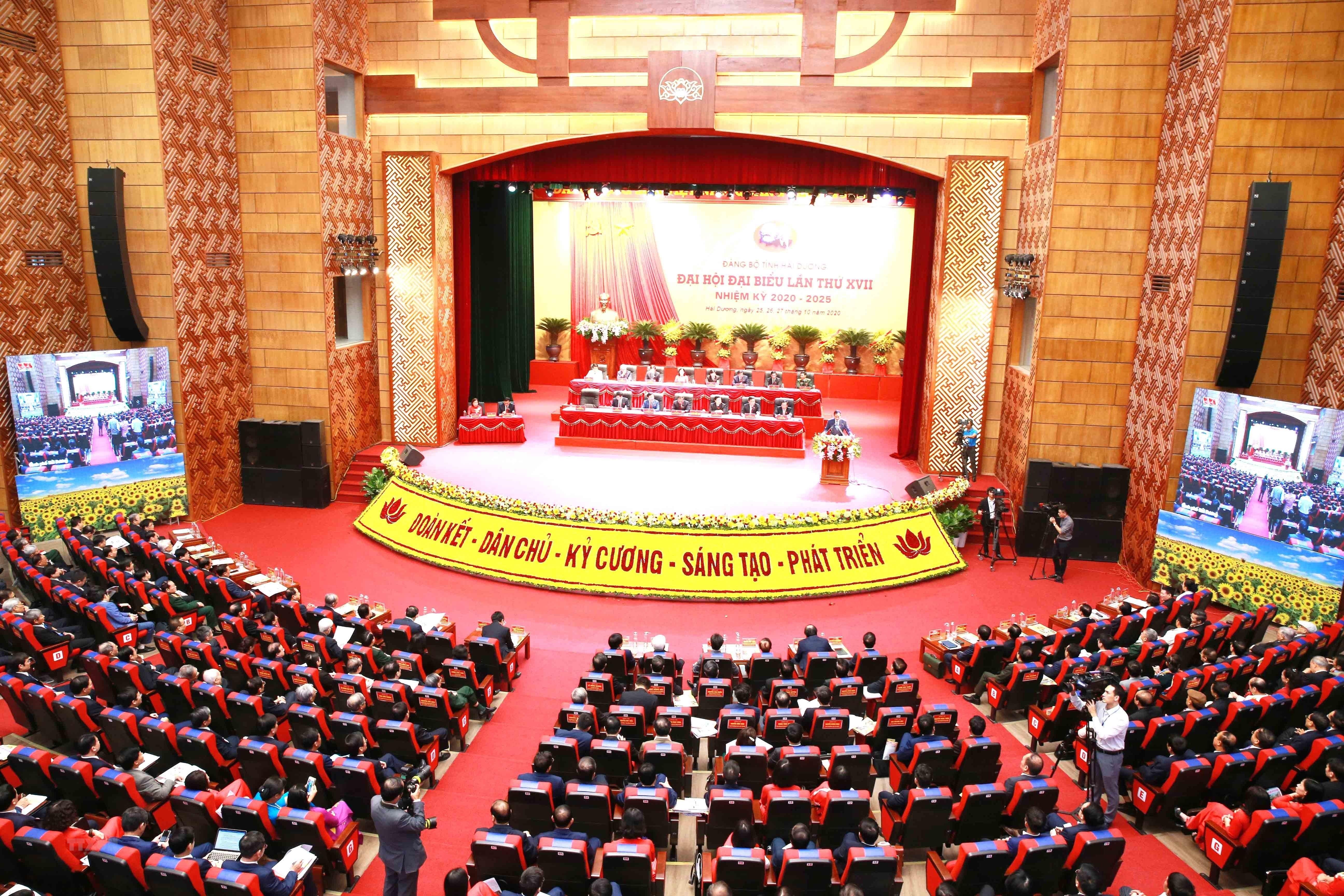 [Photo] Dai hoi dai bieu Dang bo tinh Hai Duong lan thu XVII hinh anh 14