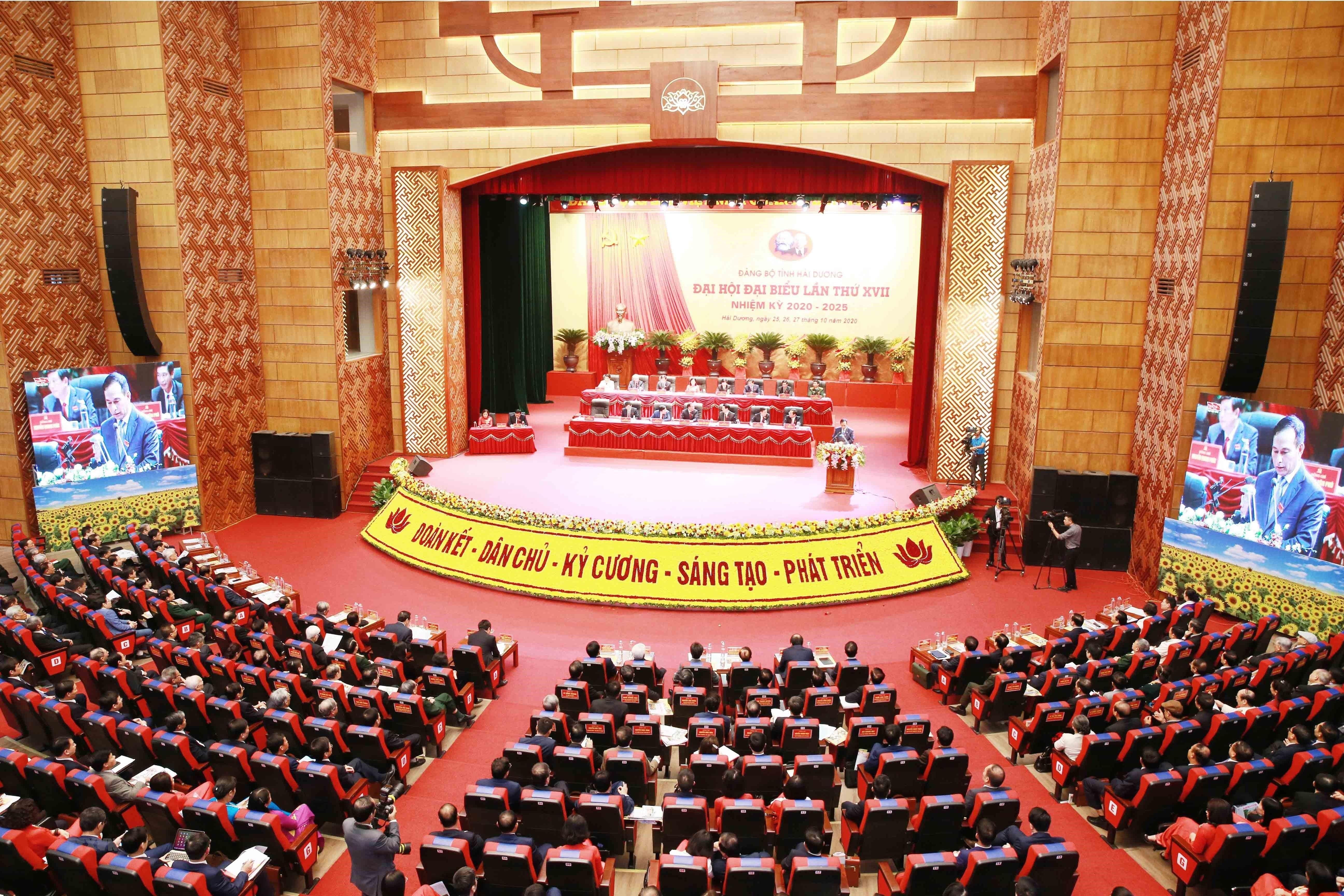 [Photo] Dai hoi dai bieu Dang bo tinh Hai Duong lan thu XVII hinh anh 15