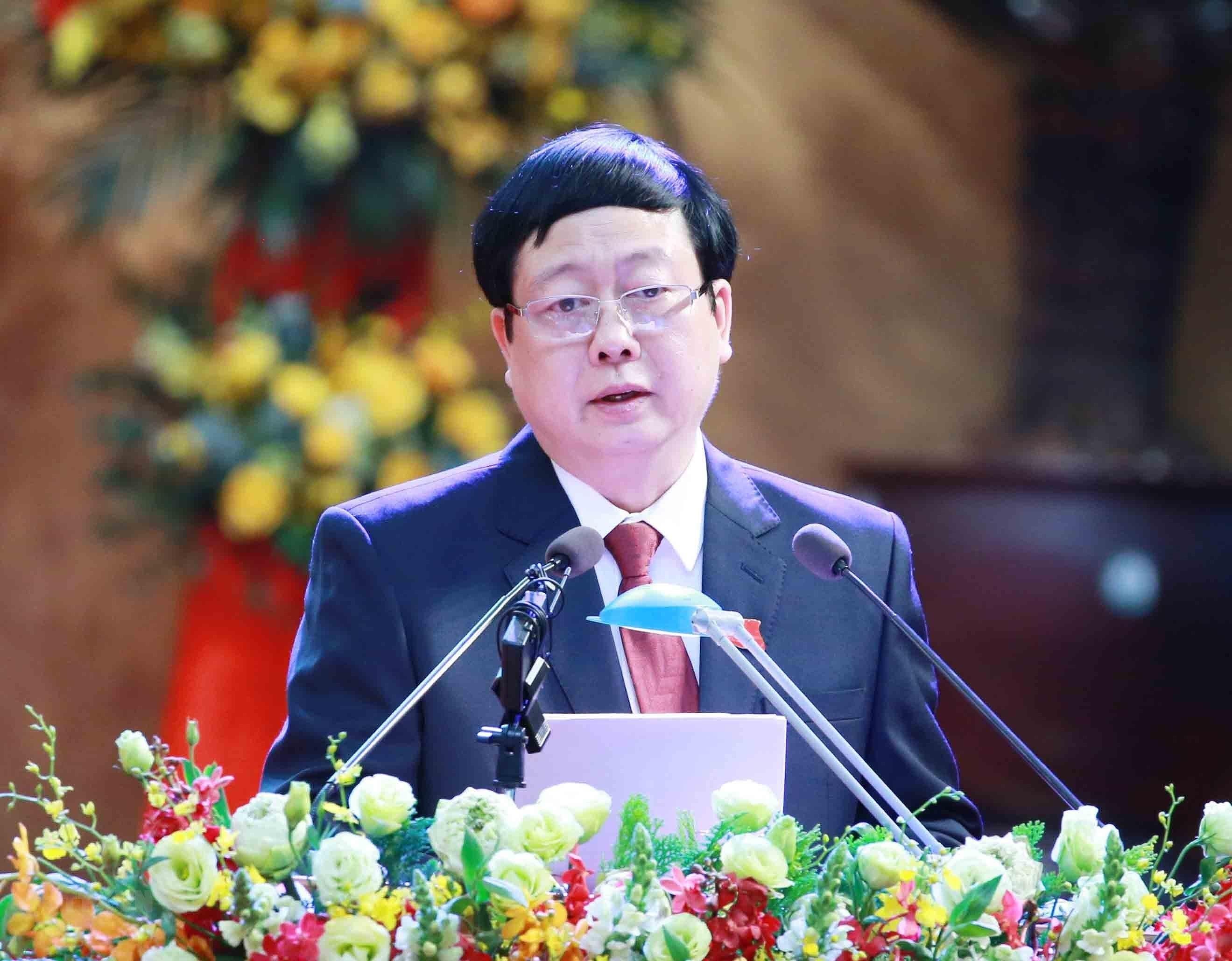 [Photo] Dai hoi dai bieu Dang bo tinh Hai Duong lan thu XVII hinh anh 16