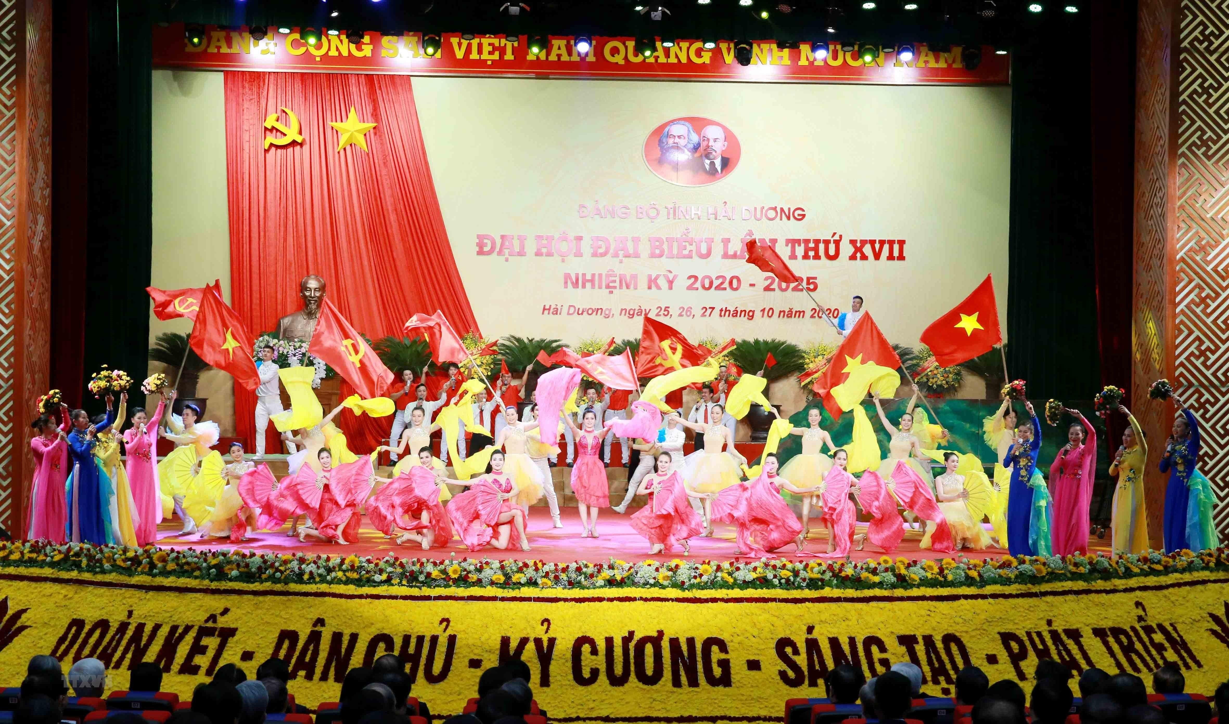 [Photo] Dai hoi dai bieu Dang bo tinh Hai Duong lan thu XVII hinh anh 2