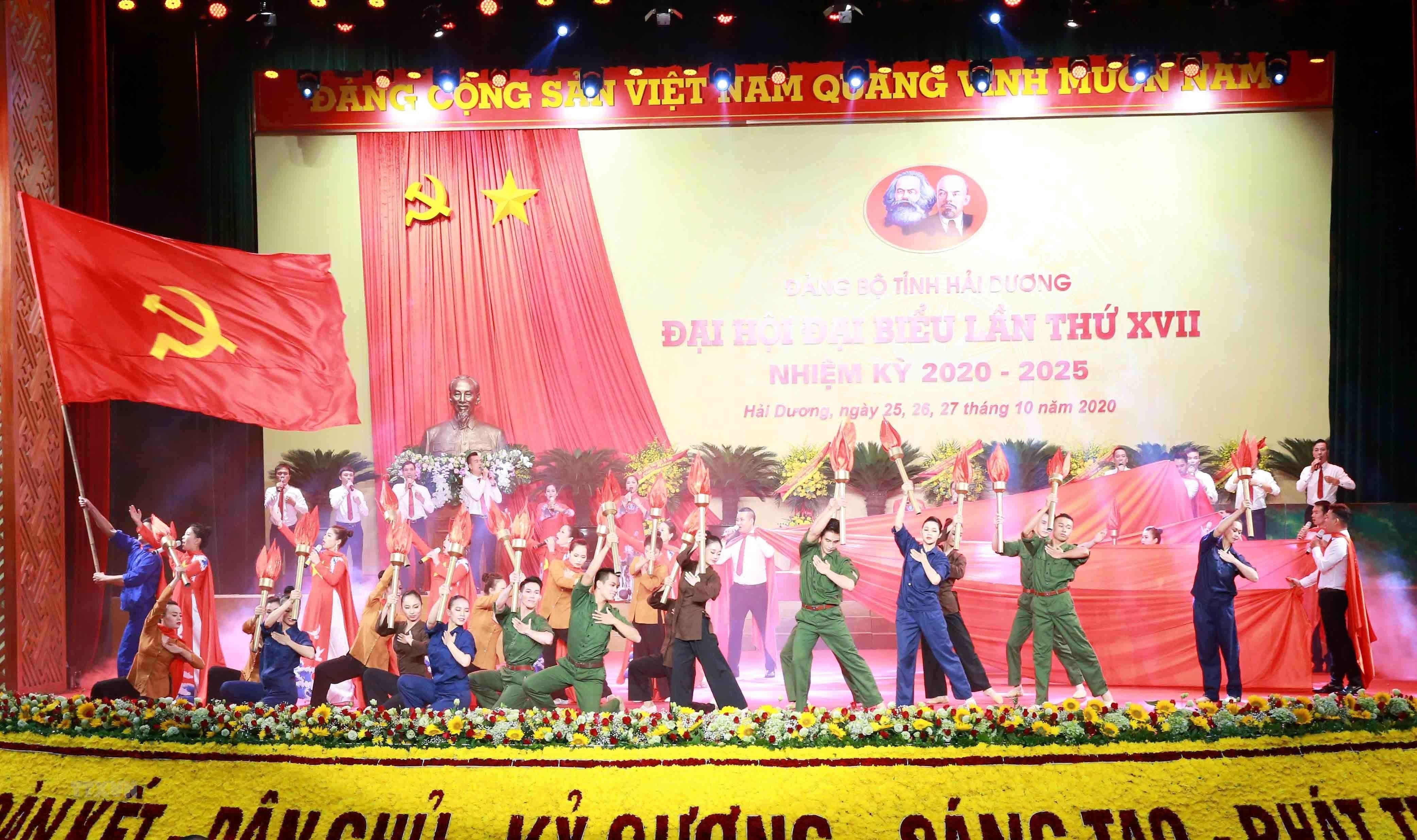 [Photo] Dai hoi dai bieu Dang bo tinh Hai Duong lan thu XVII hinh anh 4