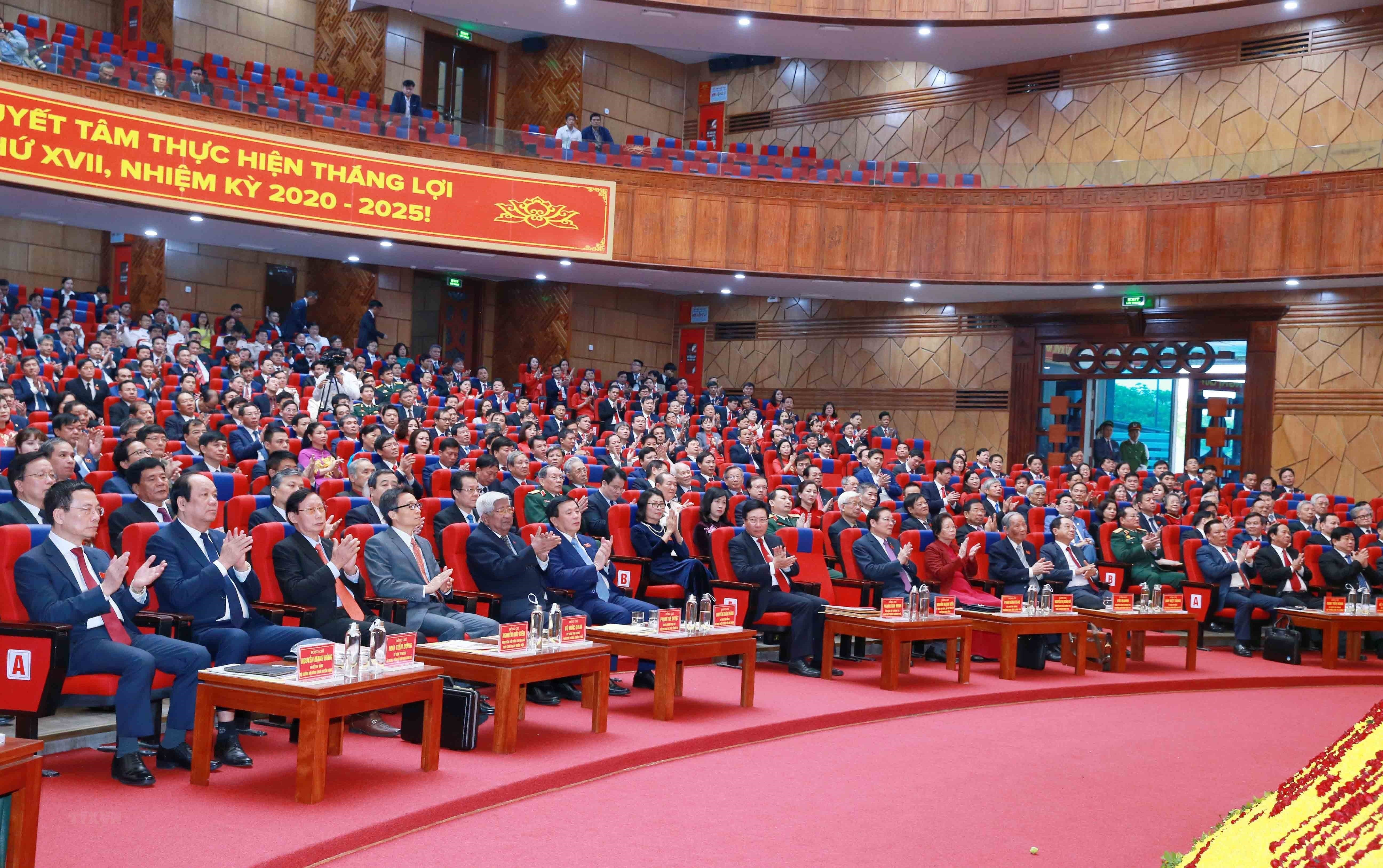 [Photo] Dai hoi dai bieu Dang bo tinh Hai Duong lan thu XVII hinh anh 7