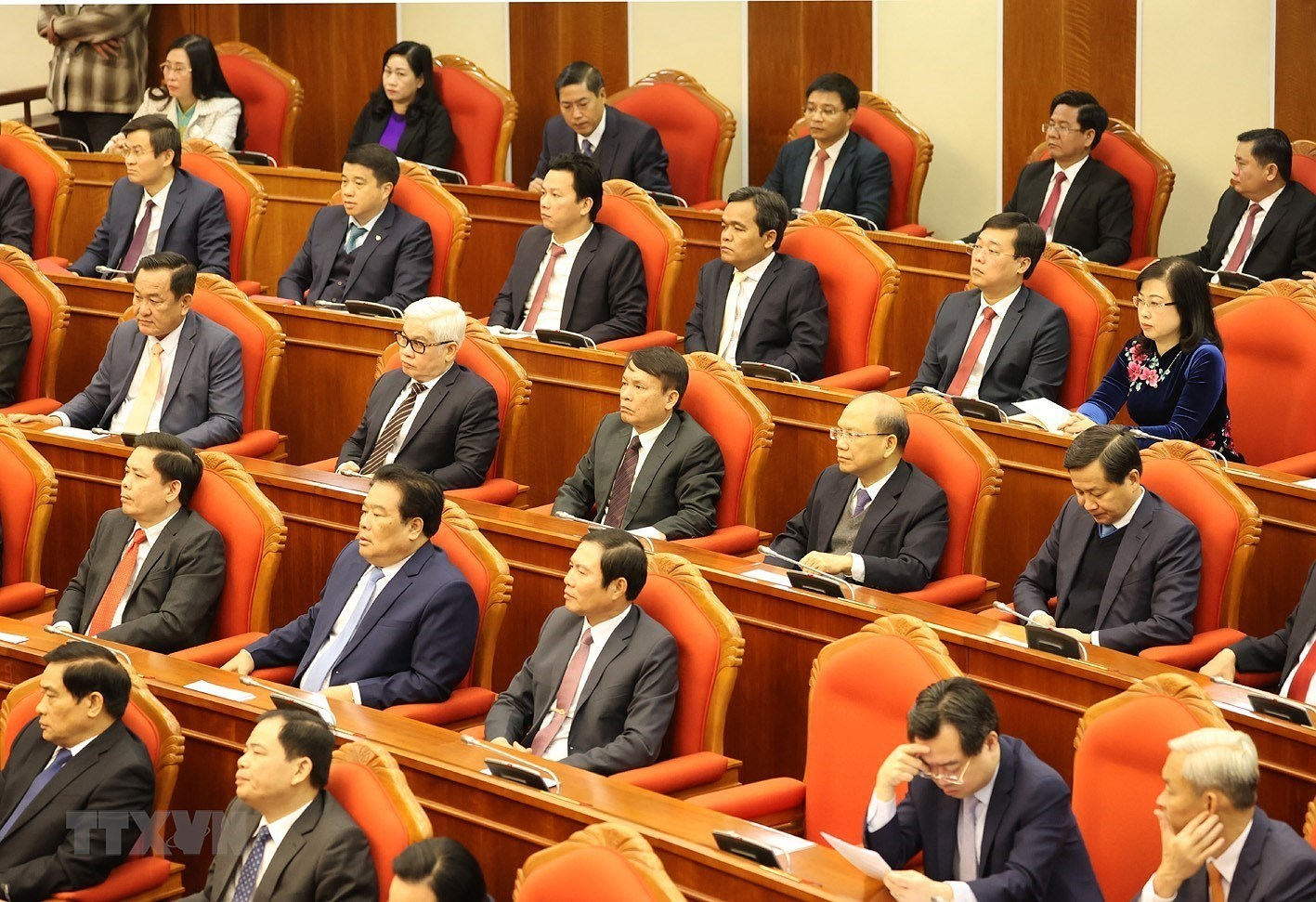 Hinh anh Be mac Hoi nghi lan thu 14 Ban Chap hanh Trung uong Dang hinh anh 11
