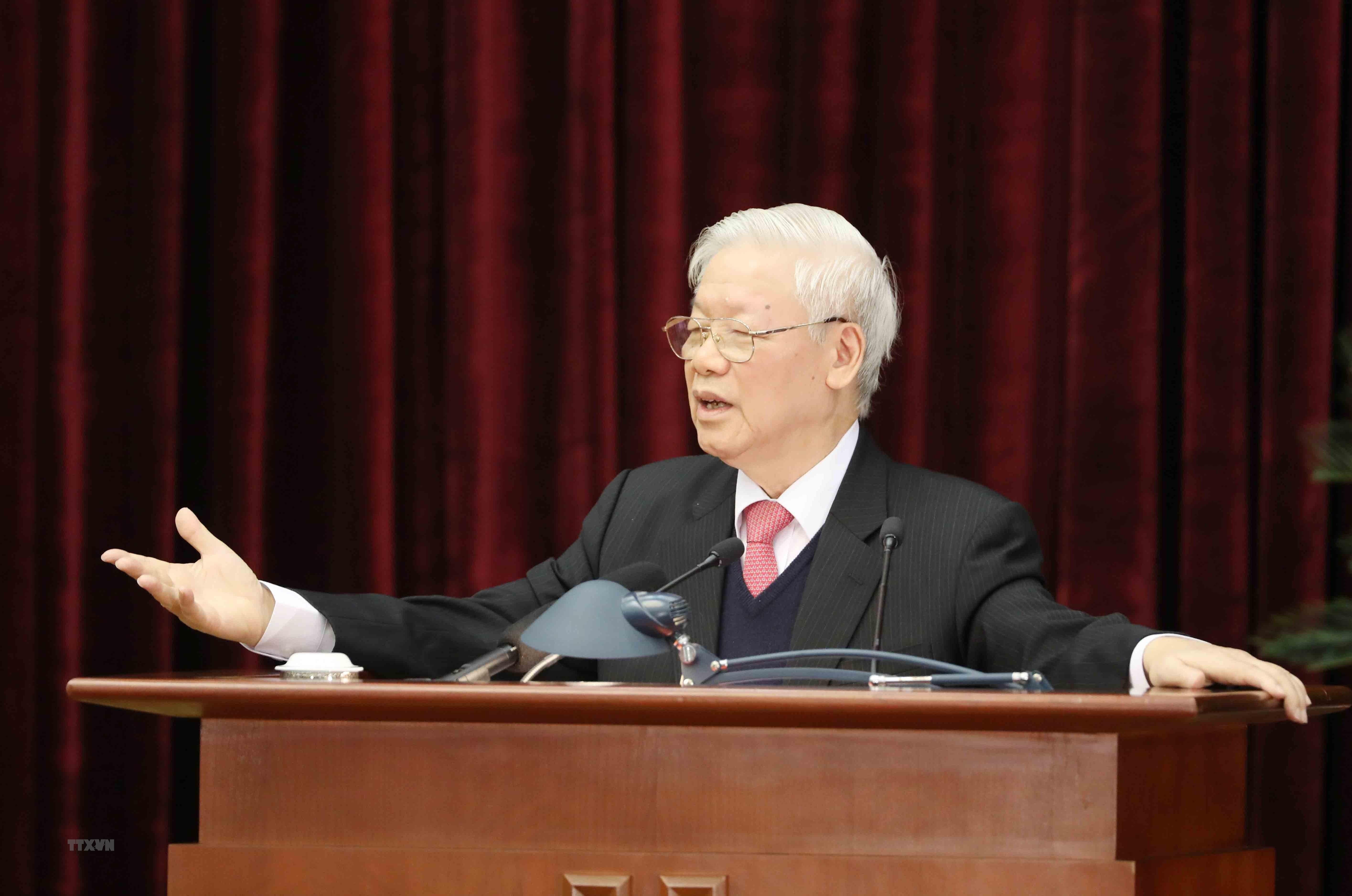 Hinh anh Be mac Hoi nghi lan thu 14 Ban Chap hanh Trung uong Dang hinh anh 2