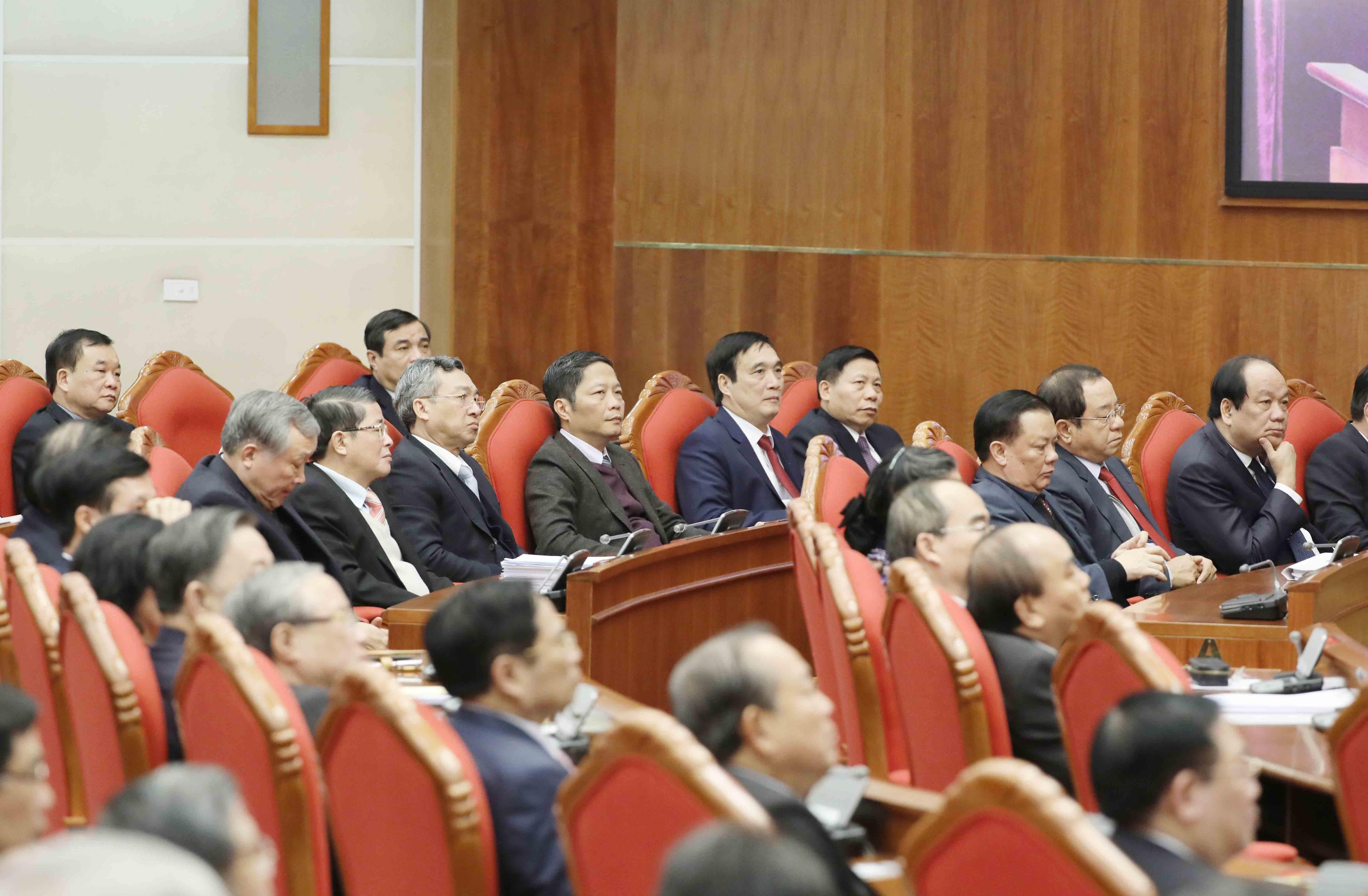 Hinh anh Be mac Hoi nghi lan thu 14 Ban Chap hanh Trung uong Dang hinh anh 3