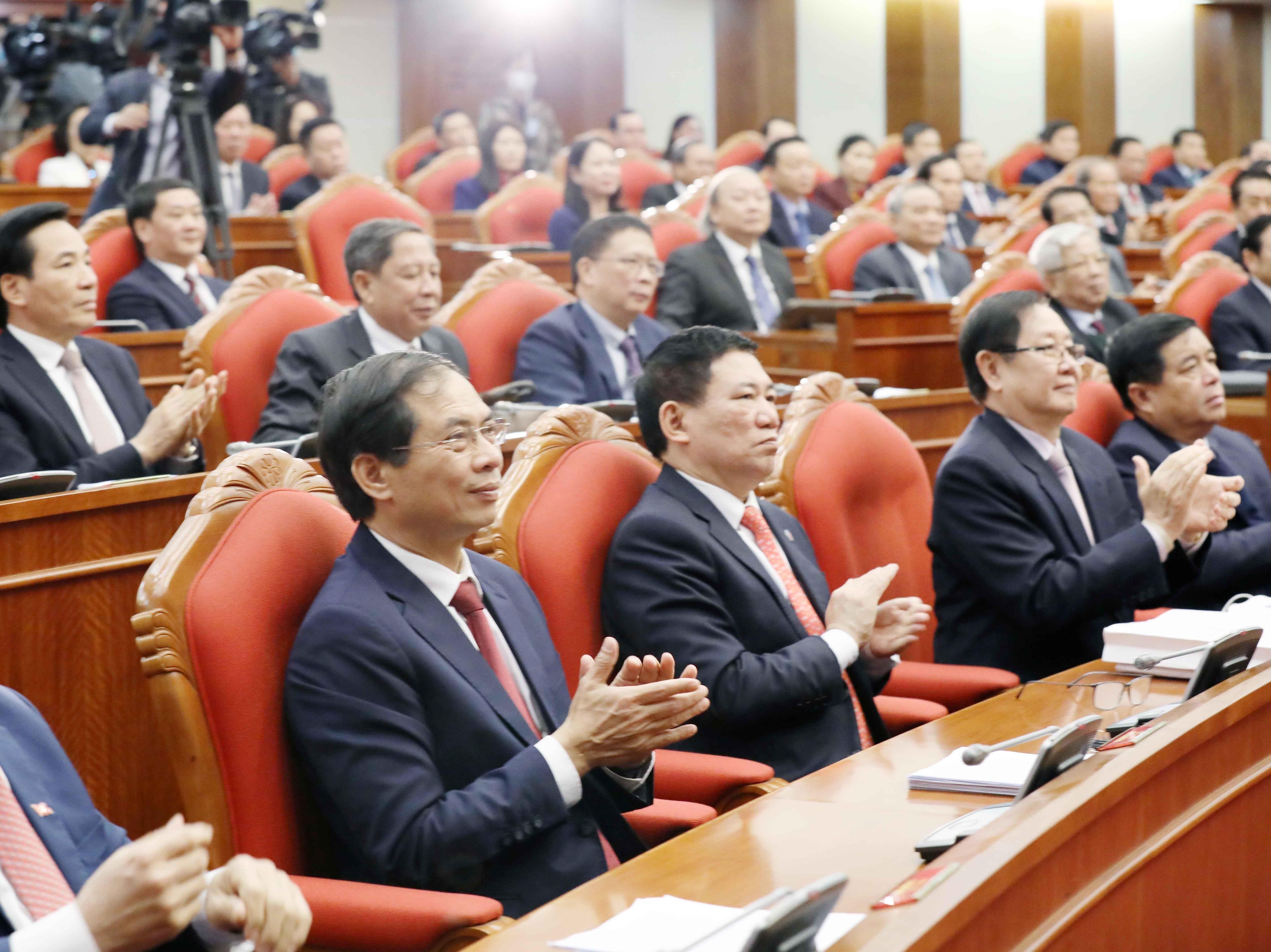 Hinh anh Be mac Hoi nghi lan thu 14 Ban Chap hanh Trung uong Dang hinh anh 6