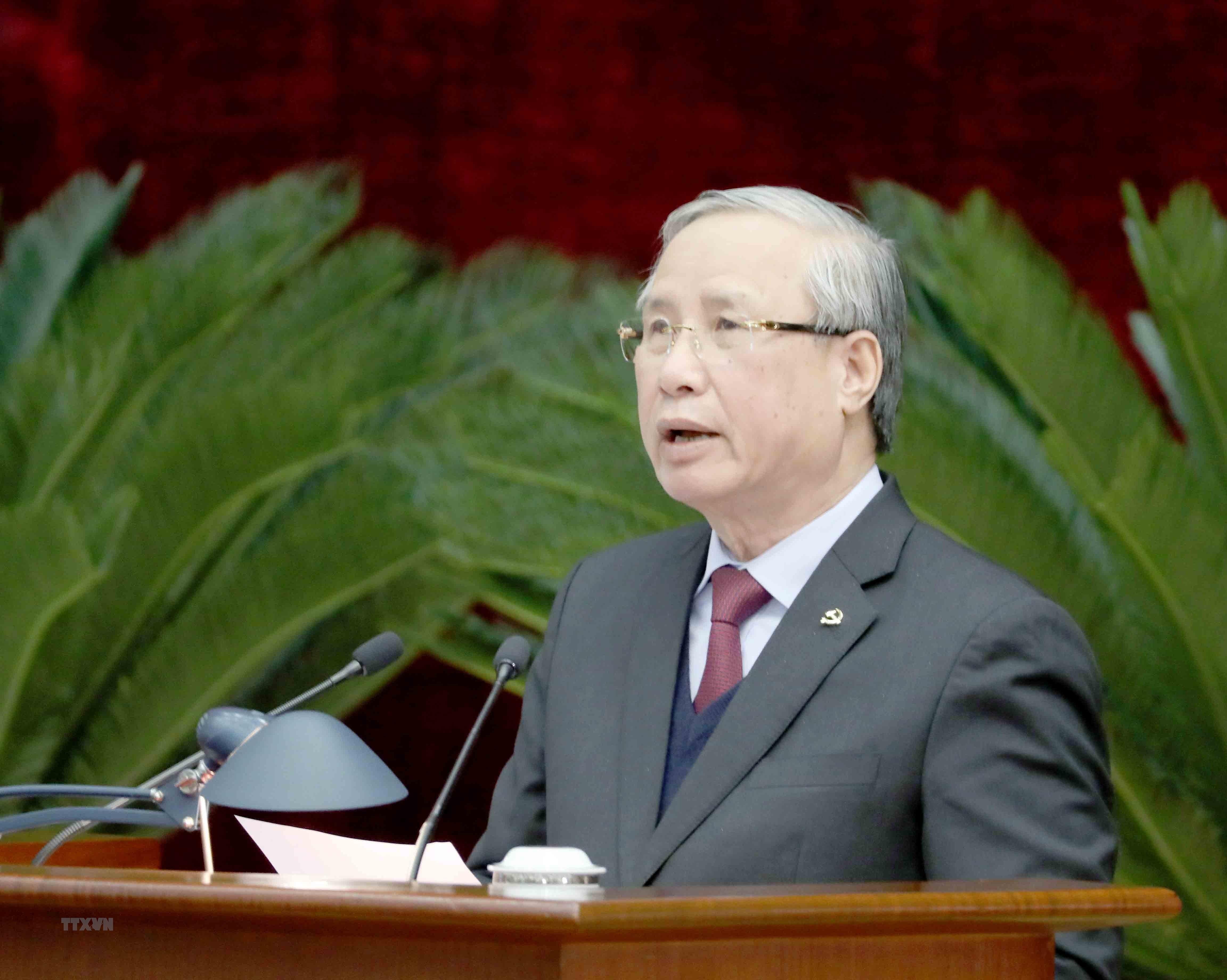 Hinh anh Be mac Hoi nghi lan thu 14 Ban Chap hanh Trung uong Dang hinh anh 7
