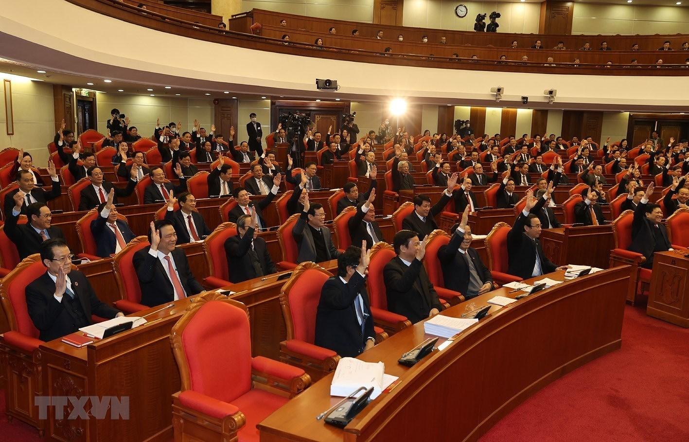 Hinh anh Be mac Hoi nghi lan thu 14 Ban Chap hanh Trung uong Dang hinh anh 9