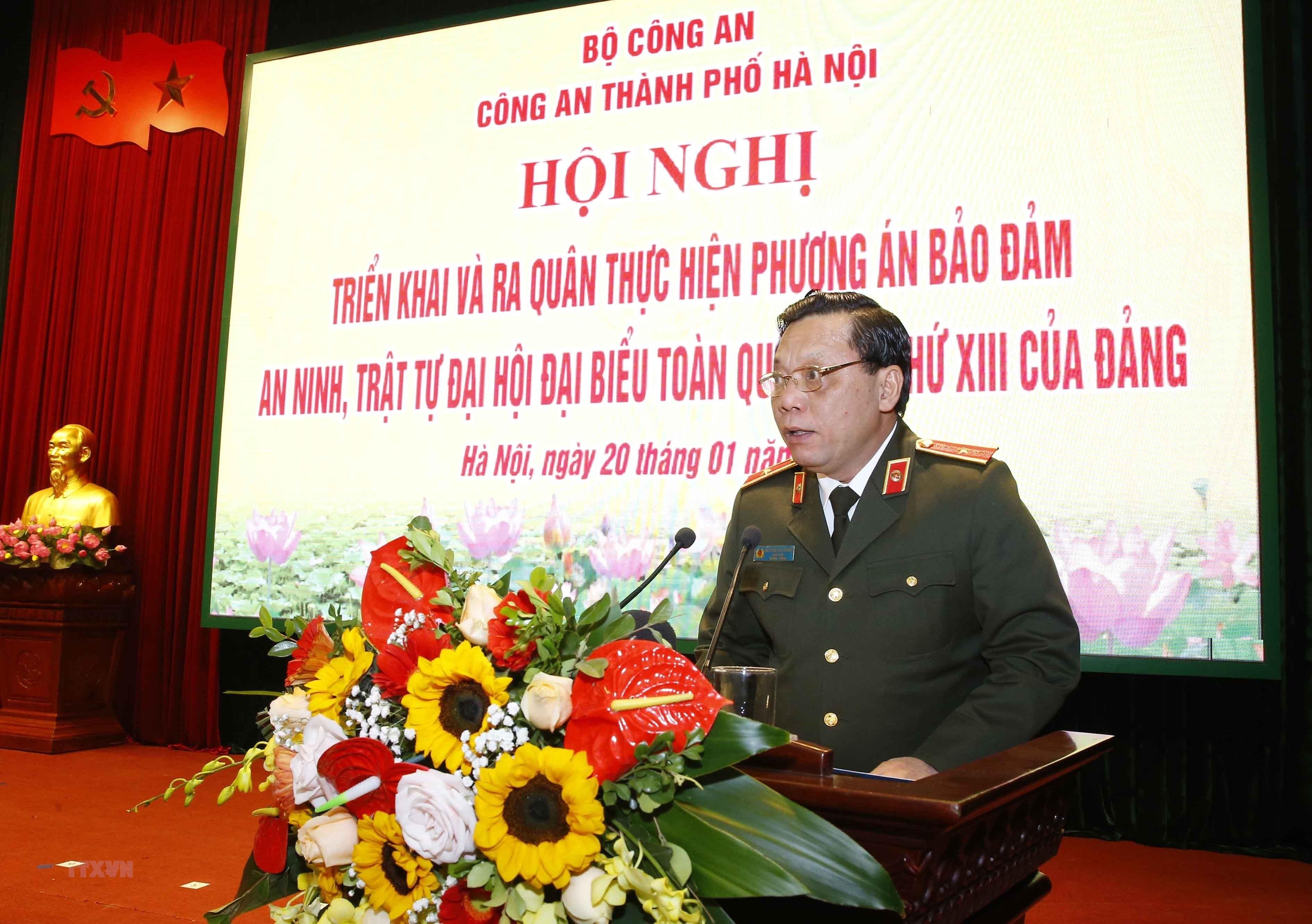 Ha Noi trien khai phuong an bao dam an ninh, trat tu Dai hoi XIII hinh anh 7