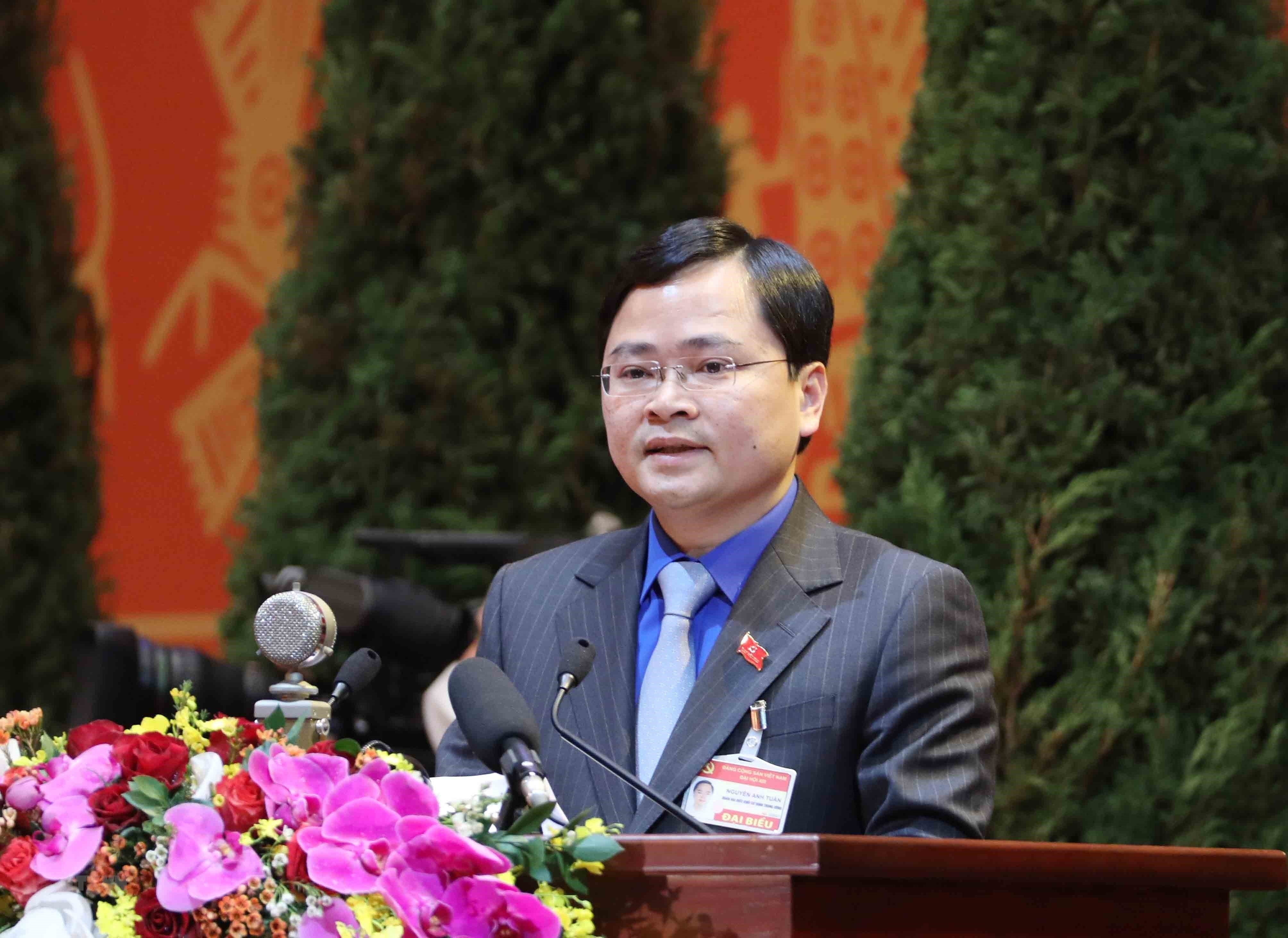[Photo] Quang canh phien thao luan cac van kien Dai hoi XIII cua Dang hinh anh 3