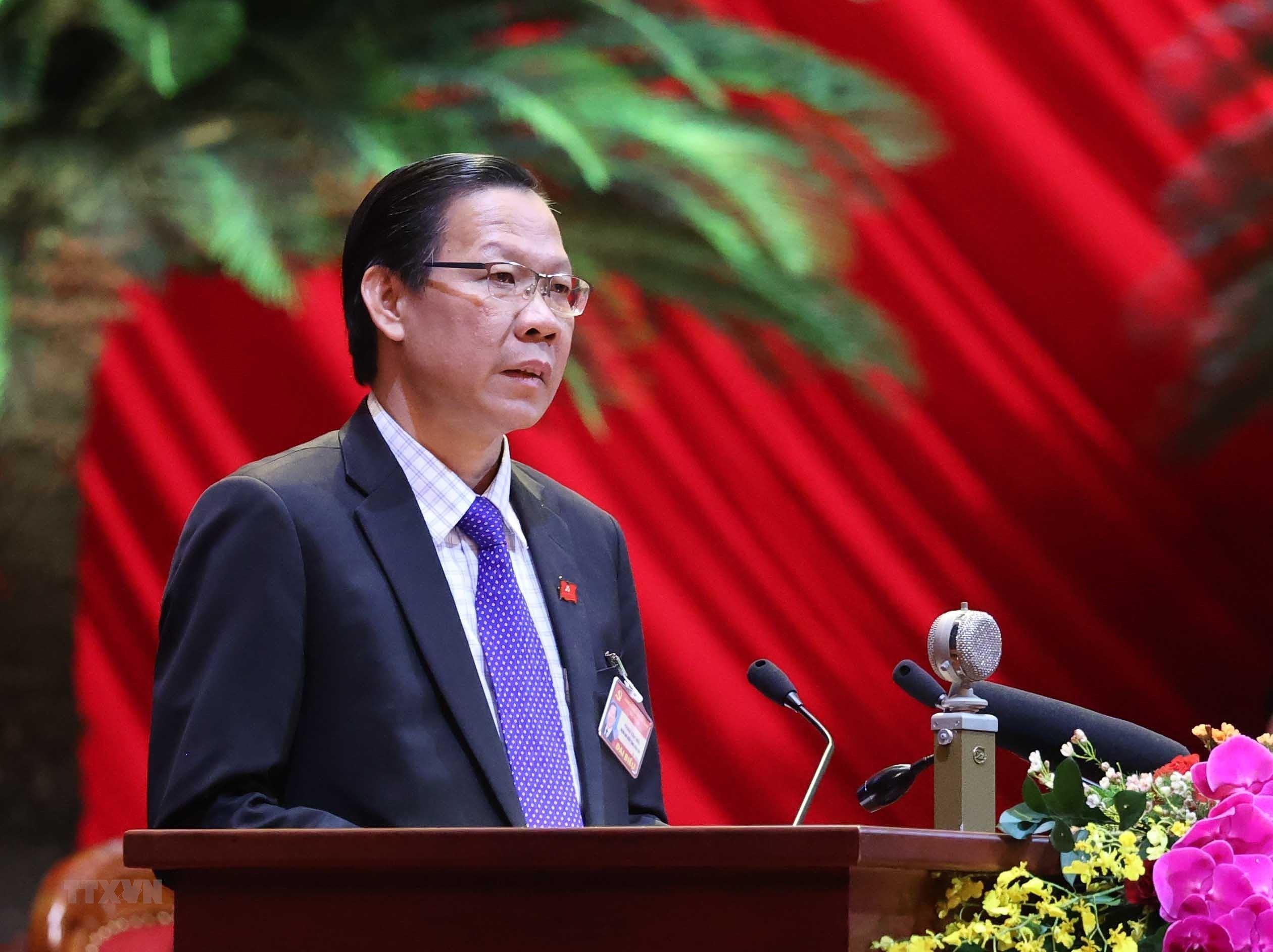 [Photo] Quang canh phien thao luan cac van kien Dai hoi XIII cua Dang hinh anh 32