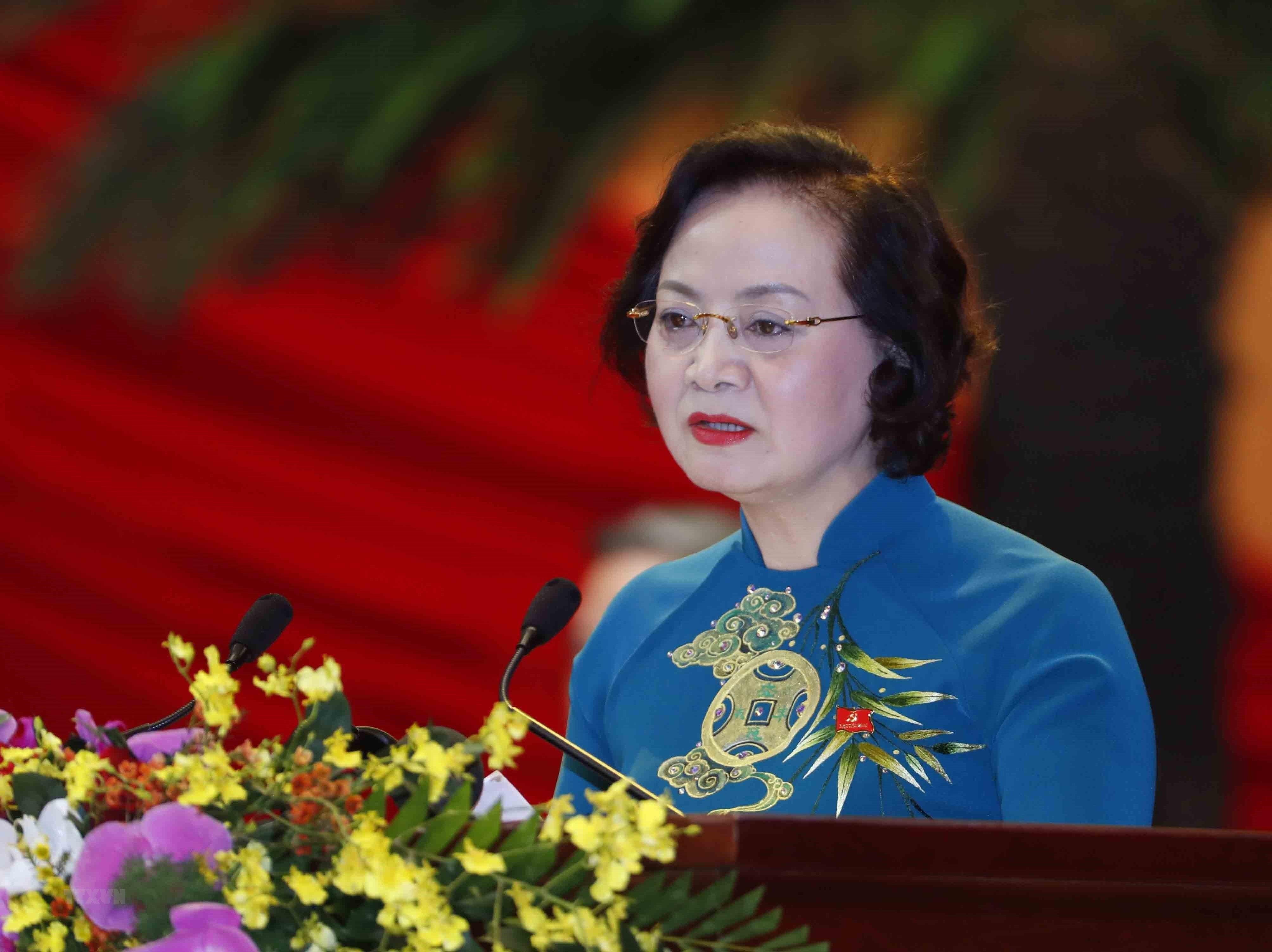[Photo] Quang canh phien thao luan cac van kien Dai hoi XIII cua Dang hinh anh 33