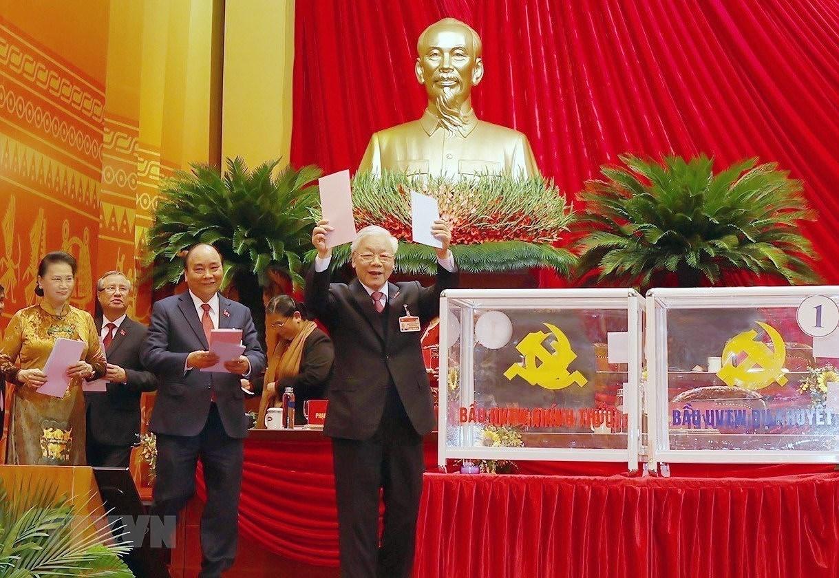 [Photo] Dai hoi XIII: Dua dat nuoc buoc vao giai doan phat trien moi hinh anh 35