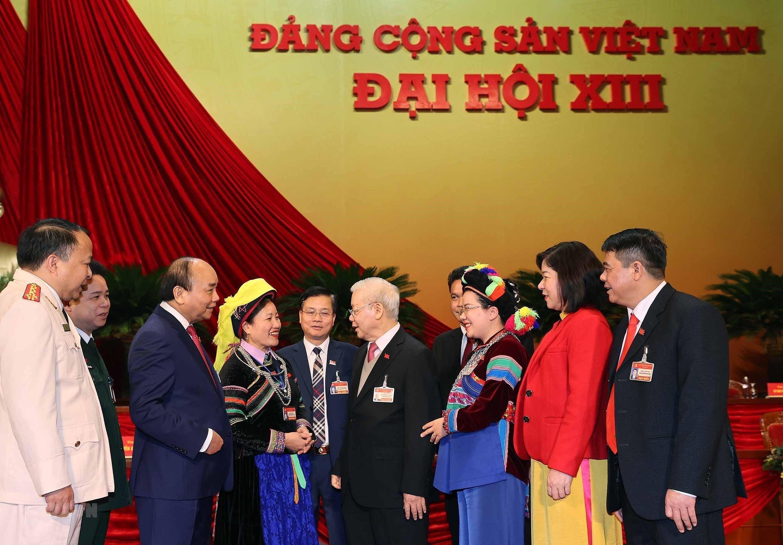 [Photo] Dai hoi XIII: Dua dat nuoc buoc vao giai doan phat trien moi hinh anh 25