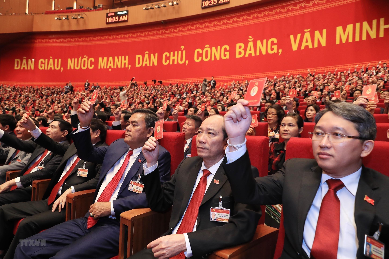 [Photo] Dai hoi XIII: Dua dat nuoc buoc vao giai doan phat trien moi hinh anh 3