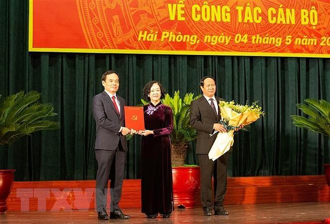 Ong Tran Luu Quang lam Bi thu Thanh uy Hai Phong nhiem ky 2020-2025 hinh anh 2