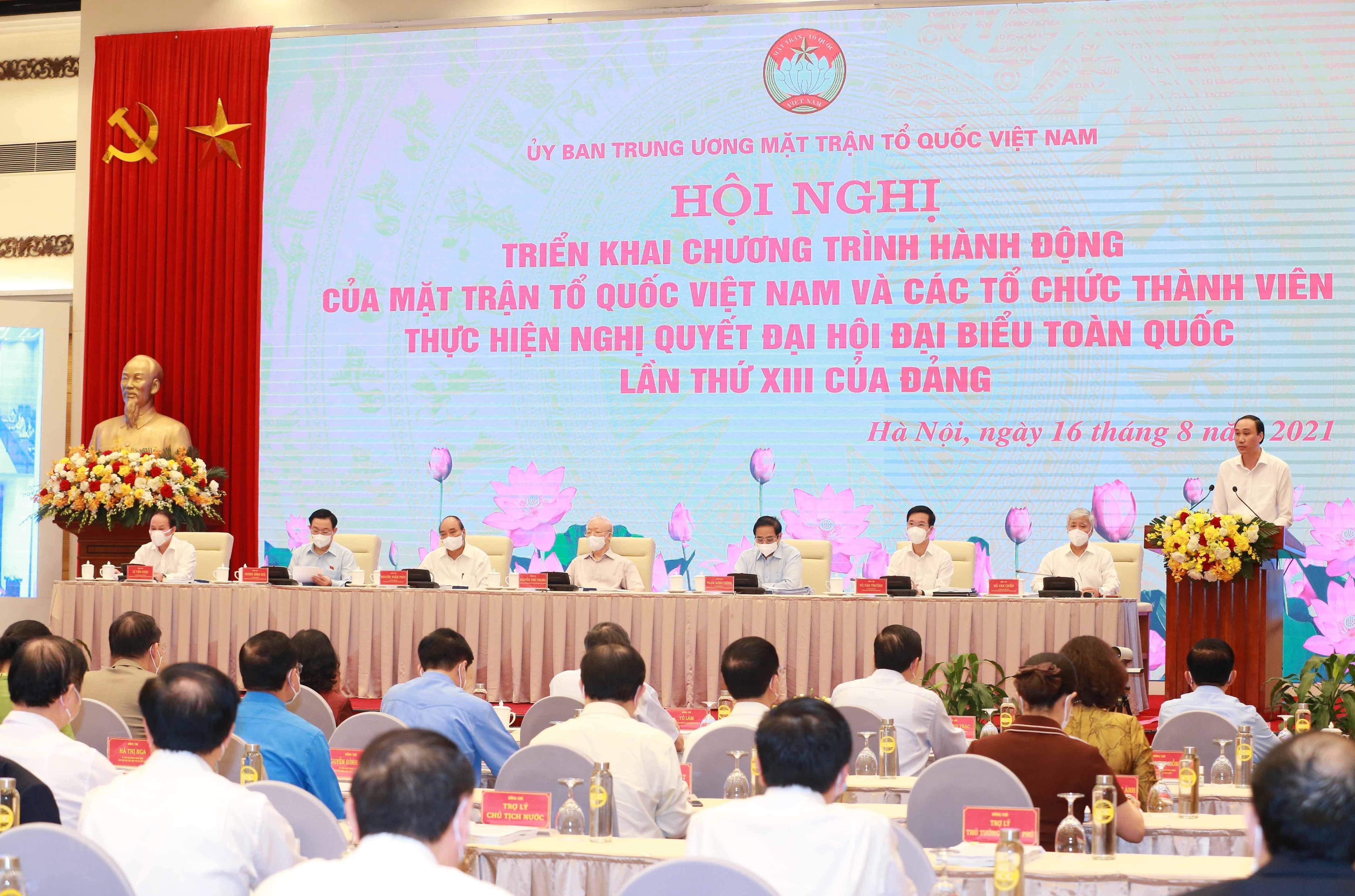 MTTQ Viet Nam trien khai viec thuc hien Nghi quyet Dai hoi XIII hinh anh 3