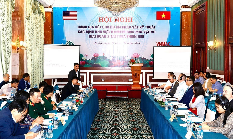 组图:国际提高地雷意识和协助地雷行动日:越南致力于克服地雷炸弹后果 hinh anh 1