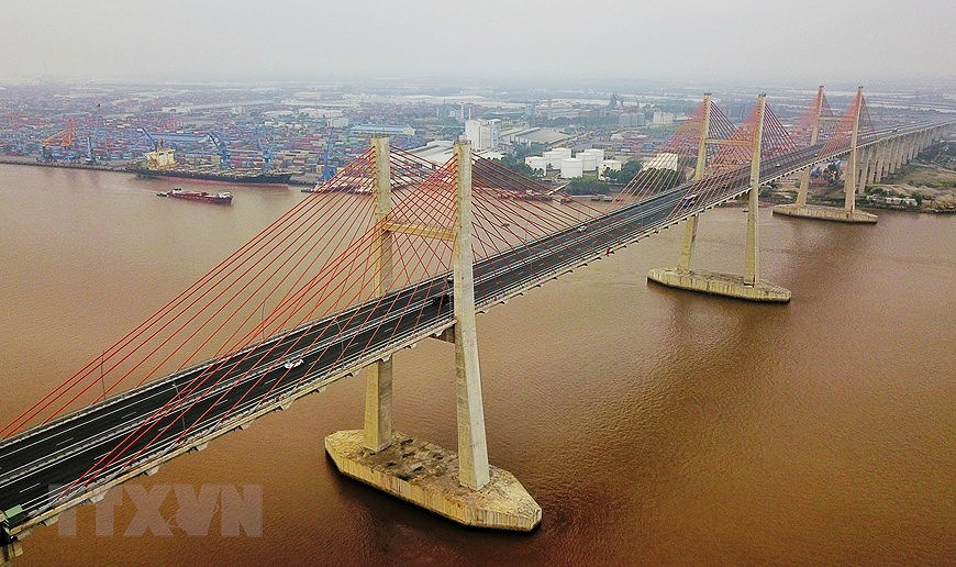 组图:海防-广宁高速公路:连接经济三角区经济三角发展的轴线 hinh anh 2