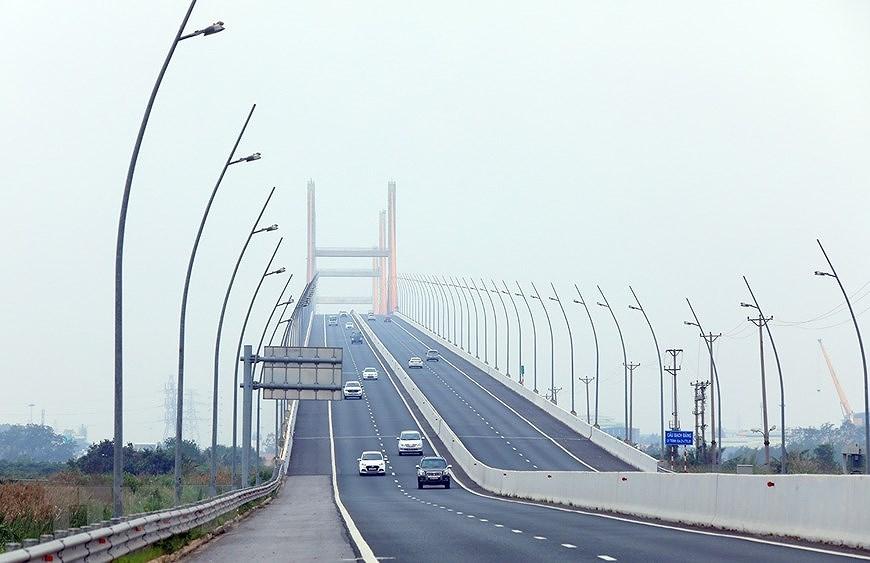 组图:海防-广宁高速公路:连接经济三角区经济三角发展的轴线 hinh anh 3