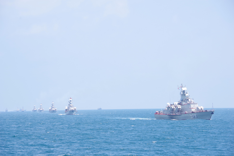 组图:海军二号司令部着力加强海上训练工作 hinh anh 5