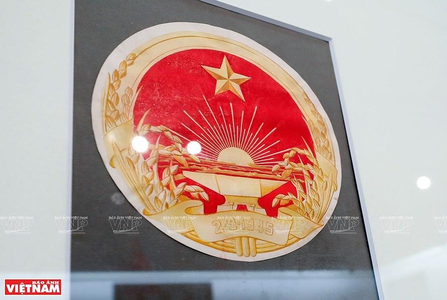 组图:越南社会主义共和国国徽的诞生历程 hinh anh 4