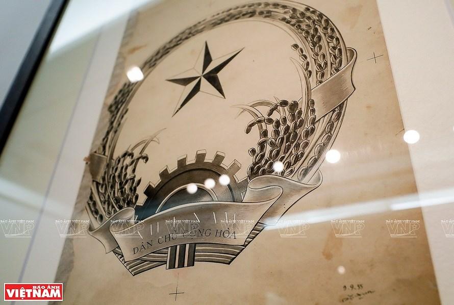 组图:越南社会主义共和国国徽的诞生历程 hinh anh 5
