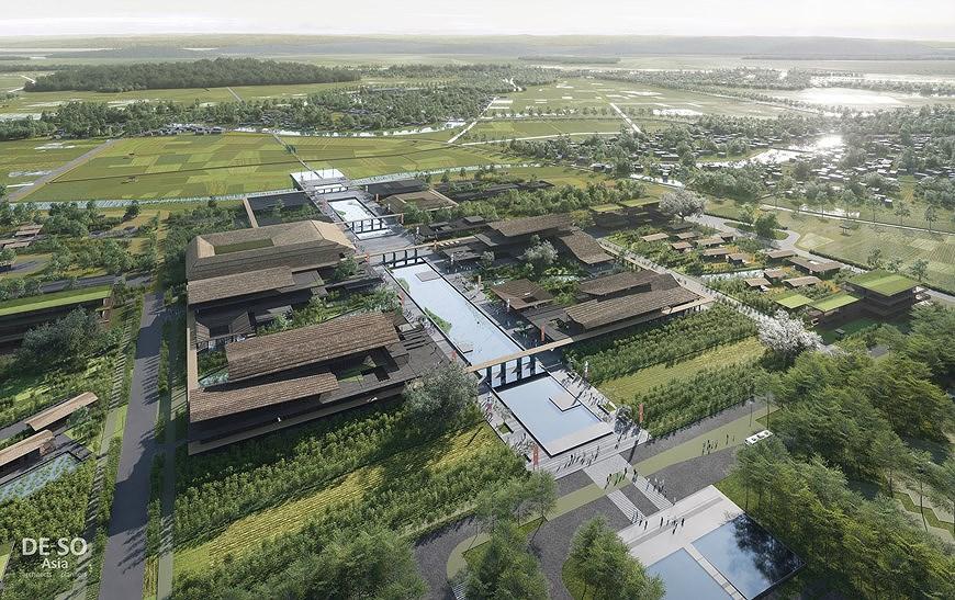 组图:胡志明主席纪念区修缮保护规划透视图 hinh anh 5