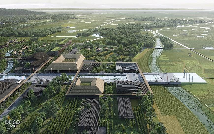 组图:胡志明主席纪念区修缮保护规划透视图 hinh anh 6