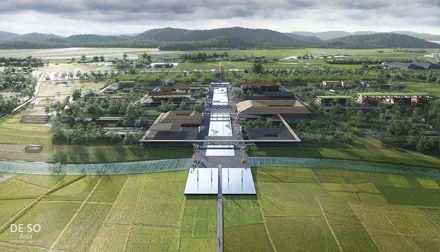 组图:胡志明主席纪念区修缮保护规划透视图 hinh anh 7