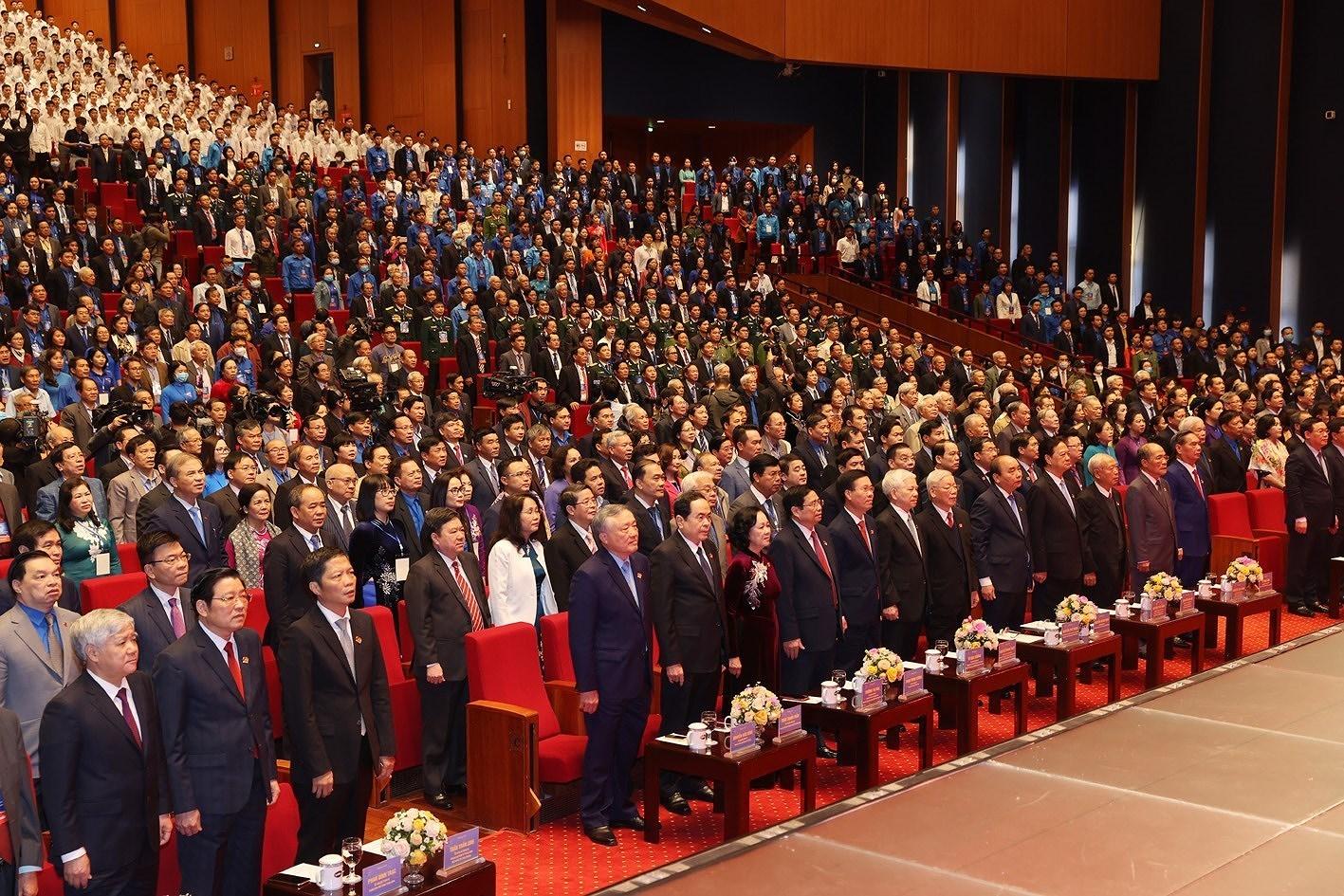 组图:胡志明共青团成立90周年纪念典礼隆重举行 hinh anh 5